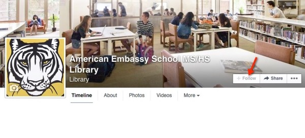 MS/HS Library Facebook Home